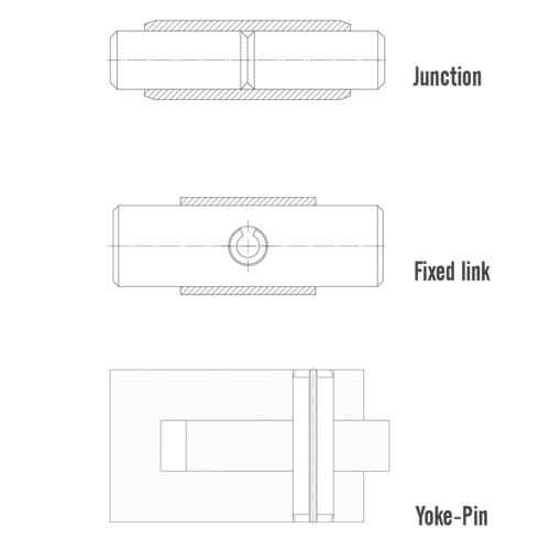 slotted tension pin application
