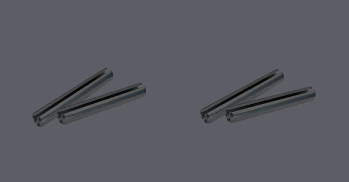 Metric Slotted Tension Pins Offer A Cost-Effective Fastening Solution